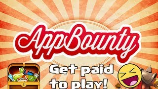 App Bounty :  Get paid to Play ( Free CoC Gems )
