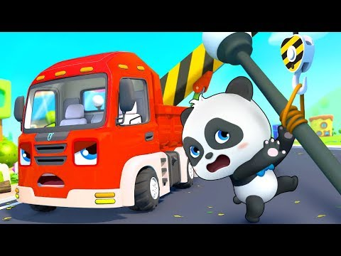 Construction Vehicles Rescue Team | Cars for Kids | Fire Truck, Police Truck | Kids Songs | BabyBus