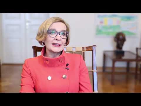 Paula Risikko valtioneuvoston viestinnän haastattelussa