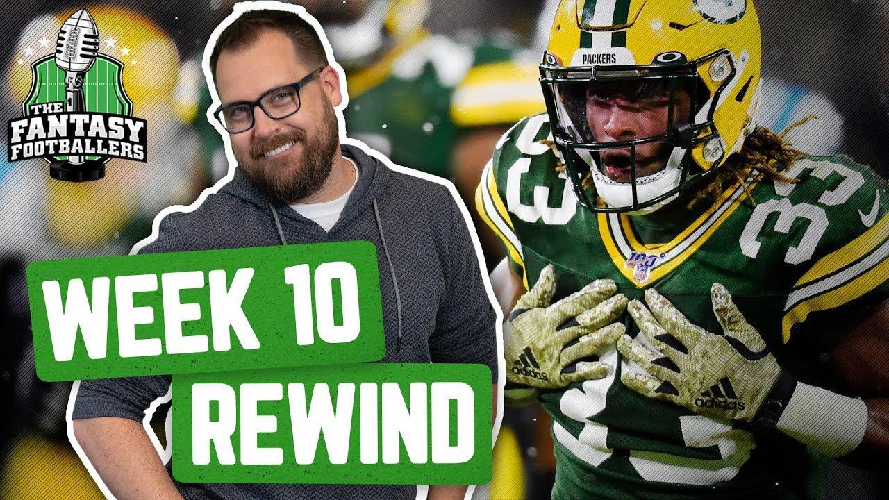Fantasy Football 2019 - Week 10 Studs & Stinkers + Weekly Rewind, Kupp Kupp Goose - Ep. #815