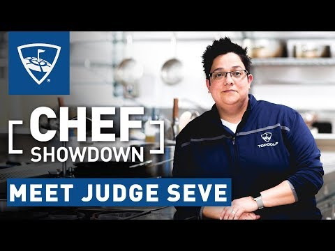 Chef Showdown | Meet Judge Seve | Topgolf