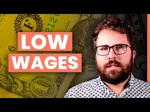 LOW WAGES: 4 Reasons WAGES Haven't Gone Up Since 1973
