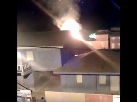 Fire at San Pedro RC Primary School