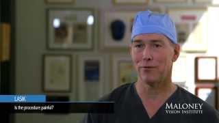 Lasik: Is the procedure painful?