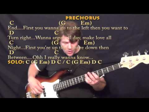 Guitar guitar chords what do you mean : What Do You Mean? (Justin Bieber) Bass Guitar Cover Lesson in C ...
