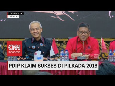 PDIP Klaim Sukses Di Pilkada 2018