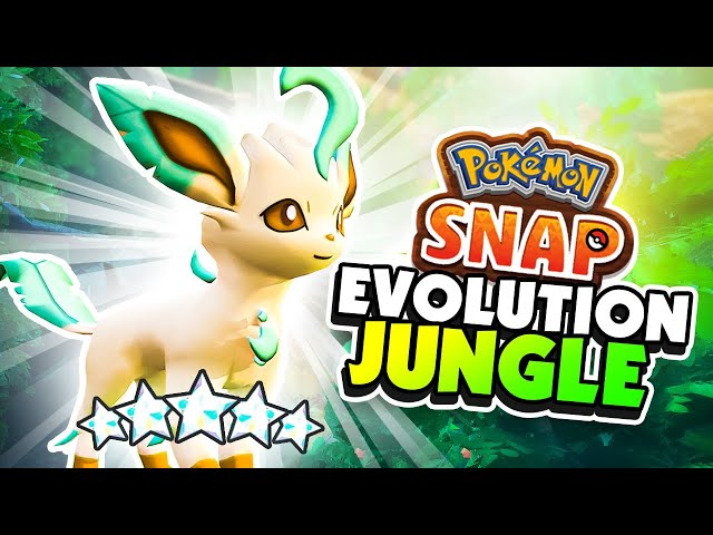 Diamond Rank Photos of RARE EVOLUTION Jungle Pokemon - Pokemon Snap