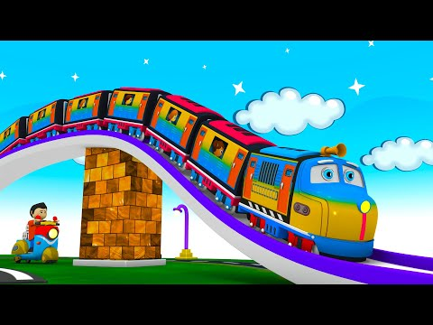 Chugging Express - Toy Factory Cartoon Train: Choo Choo Train Cartoon for Kids | Thomas The Train