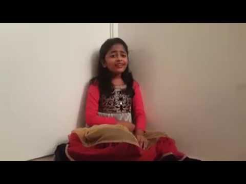 Kanna kattu pothum song | sing by a cute...