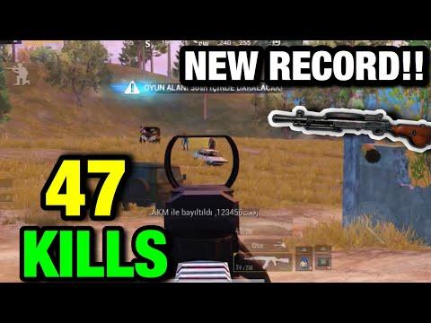NEW SEASON RECORD 47 KILLS!! ft. NAXMI | PUBG MOBILE