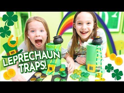Making Leprechaun Traps For St. Patrick's Day