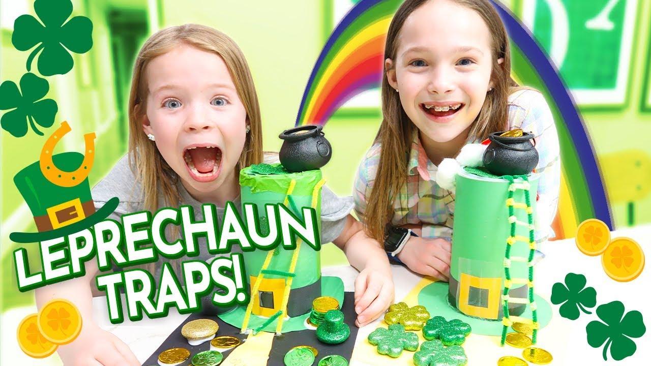 Download Making Leprechaun Traps for St. Patrick's Day
