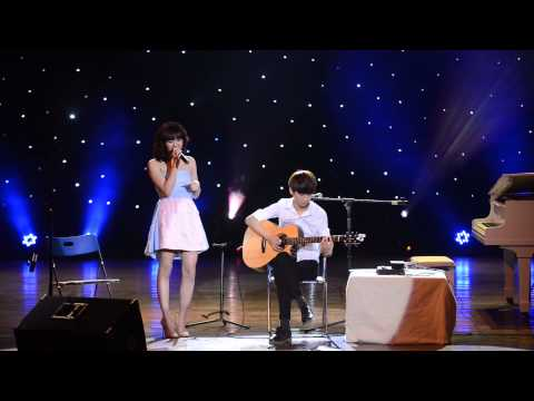 Nếu Như Anh Đến - Văn Mai Hương (Sungha Jung Concert 12.04.2014)