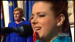 Renata Sabljak - Dej mi, Bože (Inauguracija Hrvatske predsjednice Kolinde Grabar Kitarović)