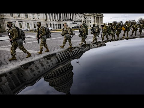 Reinforced security in Washington ahead of inauguration
