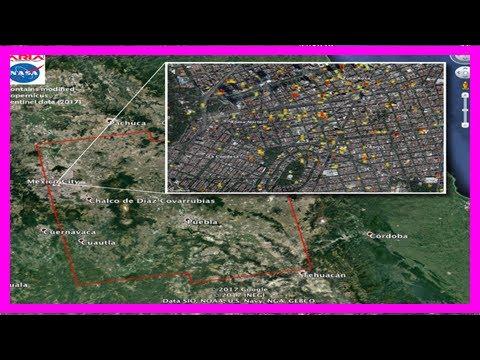 NASA's Earthquake 'Damage Map' Shows Destruction in Mexico