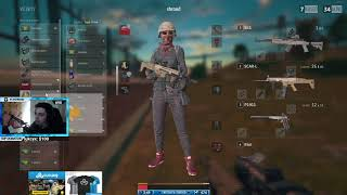 Shroud Playing Randoms In Squad Game - Playerunknown