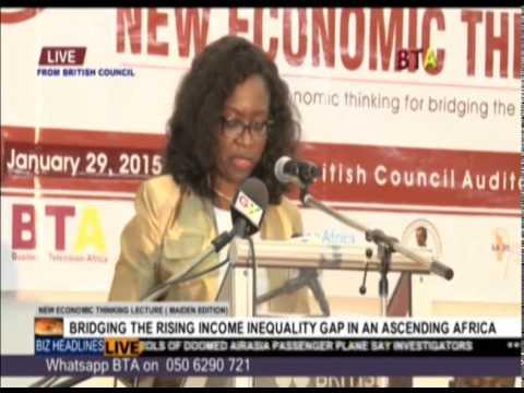 Marie Laure Akin Olugbade of AfDB speaking at NET 2015