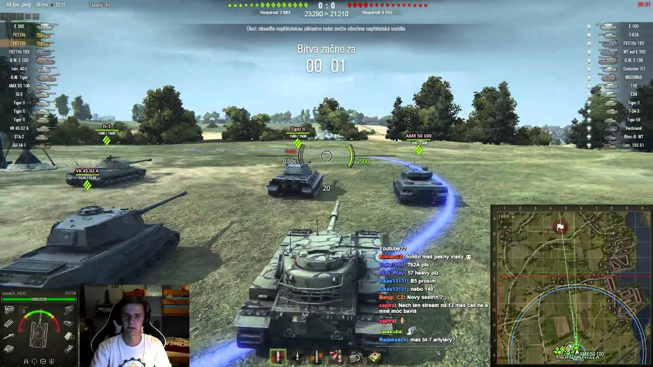 Download World of Tanks CZ - Záznam ze streamu z 26.8.2015 s El Bučem