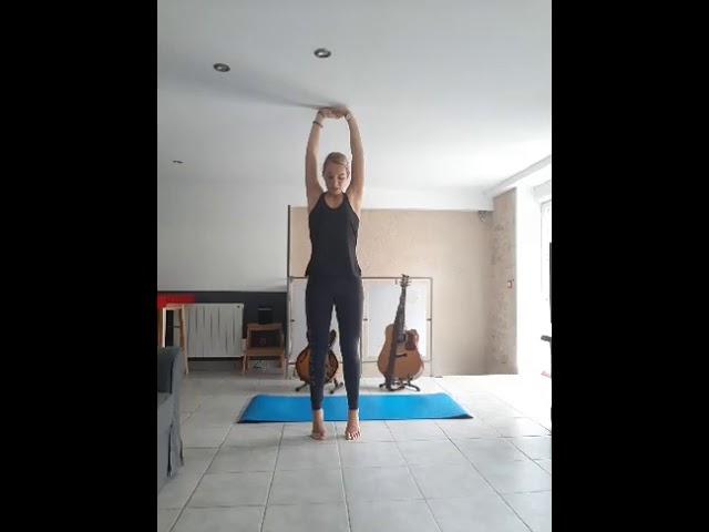 Cours de stretching du 17/04/2020