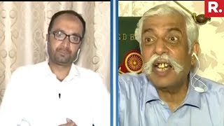 GD Bakshi Loses His Temper On The Pro Pak Mehbooba Debate   Exclusive