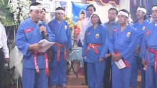 Tang Lễ Võ Sư Lê Sáng Chưởng Môn Vovinam - Việt Võ Đạo (Clip 3:1)
