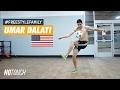 Umar Dalati (USA) freestyles for NO TOUCH MAGAZINE | #FreestyleFamily
