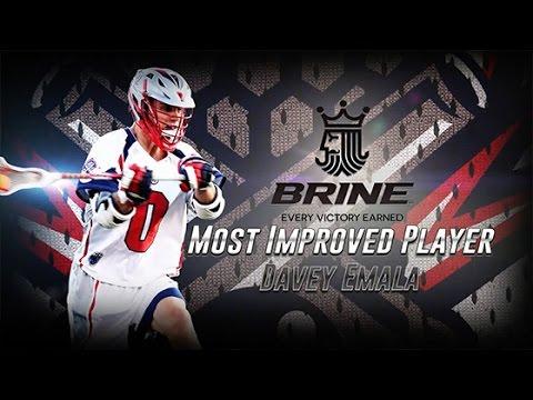2015 Brine Most Improved Player: Davey Emala
