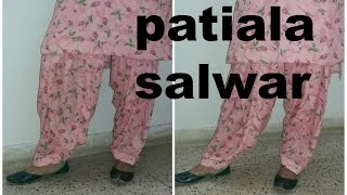 PATIALA SALWAR (STITCHING PART)