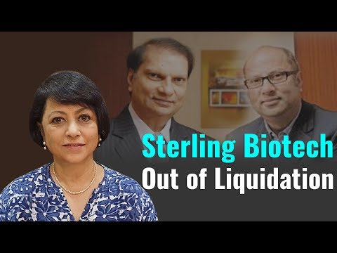 Sterling Biotech out of Liquidation