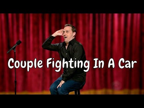 Hilarious Silent Comedy - Couple Fighting In A Car