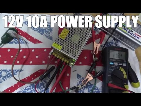 12V 10AMP DC Power Supply