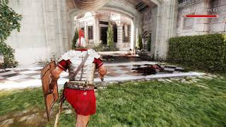 ryse son of rome graphics mod by game hancer 4K only test