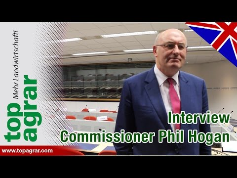 Commissioner Phil Hogan about milk crisis, yellow card and fairer penalties