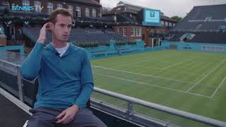 Murray discusses return at london queen's club 2018