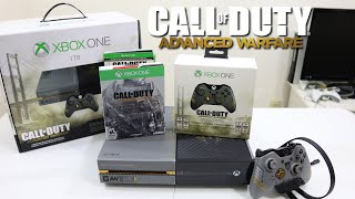 Call of Duty Advanced Warfare Limited Edition Xbox One 1TB Bundle Unboxing, Setup & First Look!