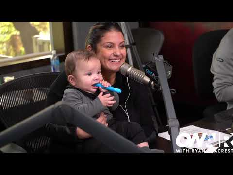 Sisanie's Twins Do Their First Radio Show | On Air with Ryan Seacrest