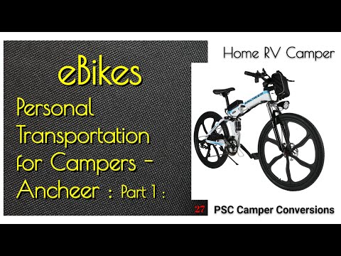 P1 Ancheer Electric Bicycle Bike Review Camping Campers RV Vans Prius Riding Mods Accessories thumbnail