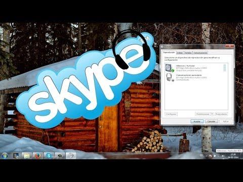 Problema de Audio Skype - Llamada por Auriculares / Musica u Otros por Altavoces