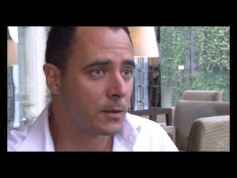 Jerome Touze, co-founder, WAYN, at World Travel Awards 2012 Grand Final