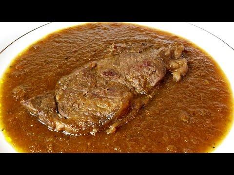 Lomo de ternera en salsa al Pedro Ximénez