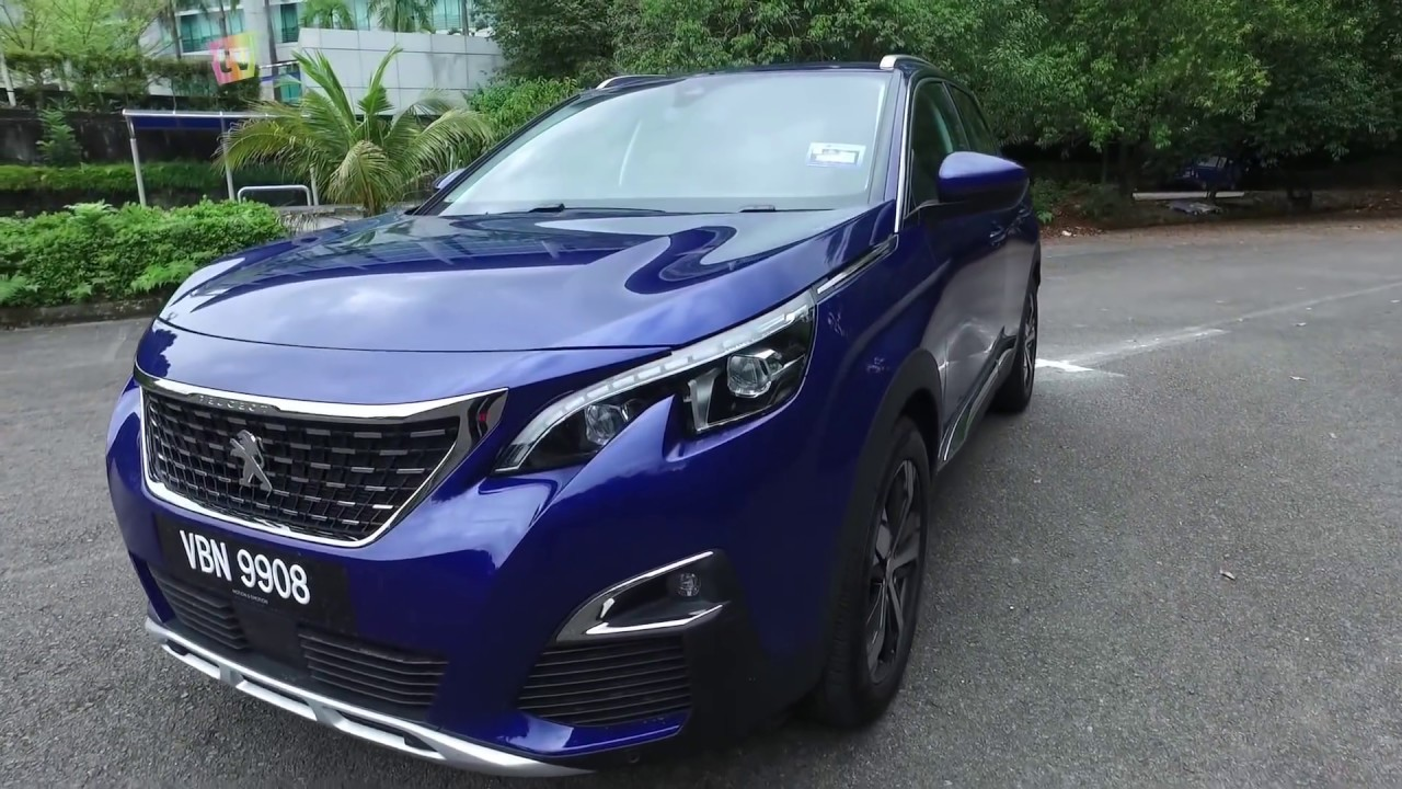 Peugeot 3008 2018 Review A Fun Suv With The Essential Tech Stuffs