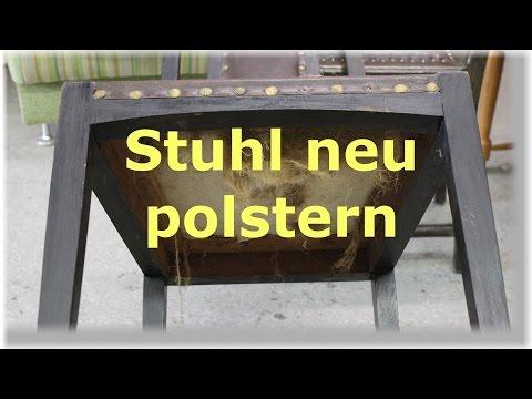 einen-stuhl-mit-leder-neu-beziehen-/-polstern-/-restaurieren