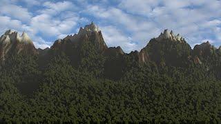 Blender tutorial: Mountains