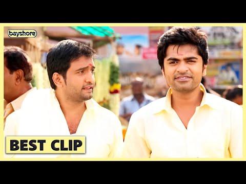 Vaalu   Santhanam Comedy Scene   STR   Hansika   Vijay chandar