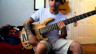 esp b 206 6 string bass