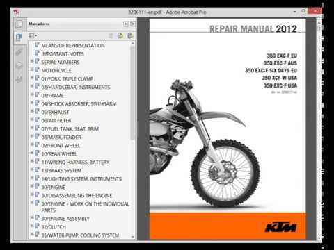 2012 ktm 350 sxf owners manual free owners manual u2022 rh wordworksbysea com ktm 350 sxf 2012 workshop manual ktm 350 sxf repair manual pdf