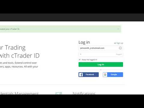 What is a cTID and how to login into your cTrader platform