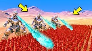 03 MECHAGODZILLA VS 3.000 THE FLASH   Ultimate Epic Battle Simulator