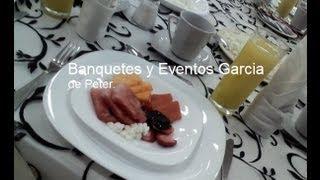 Desayunos para fiestas. Banquetes a domicilio. Fiestas, Reuniones, Eventos. D.F.